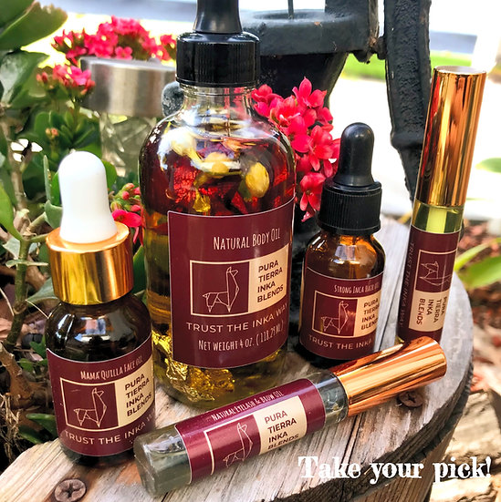 Natural Beauty Oils