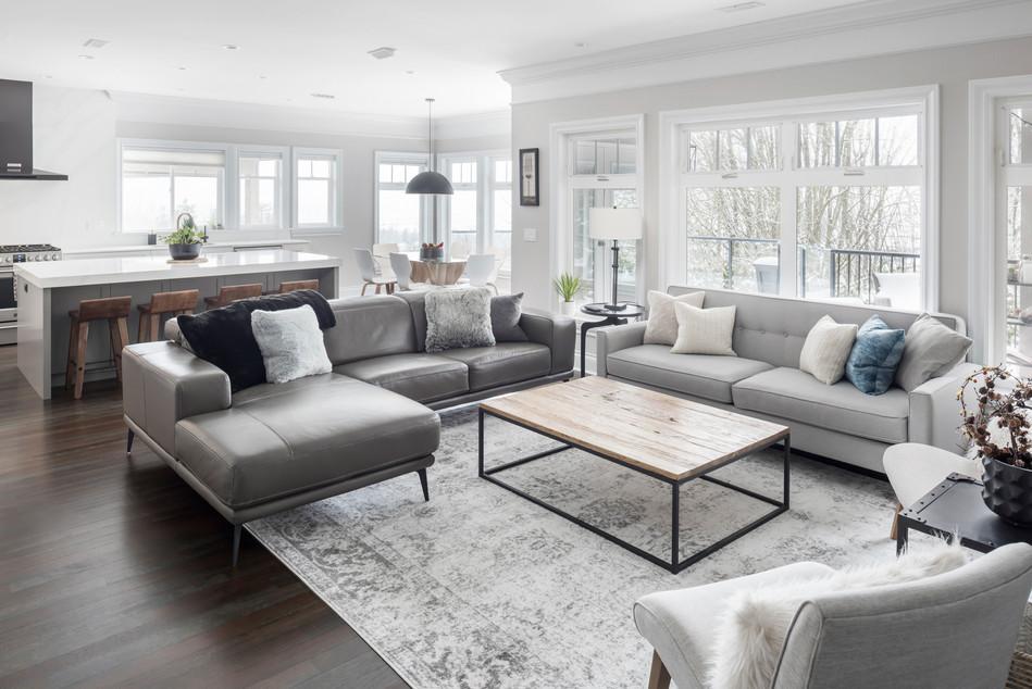 Modern Living Room - Interiors Photography