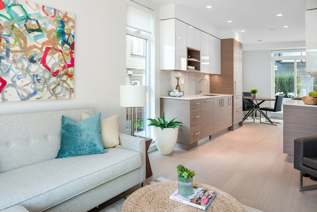 Modern Living Area - Interiors Photography