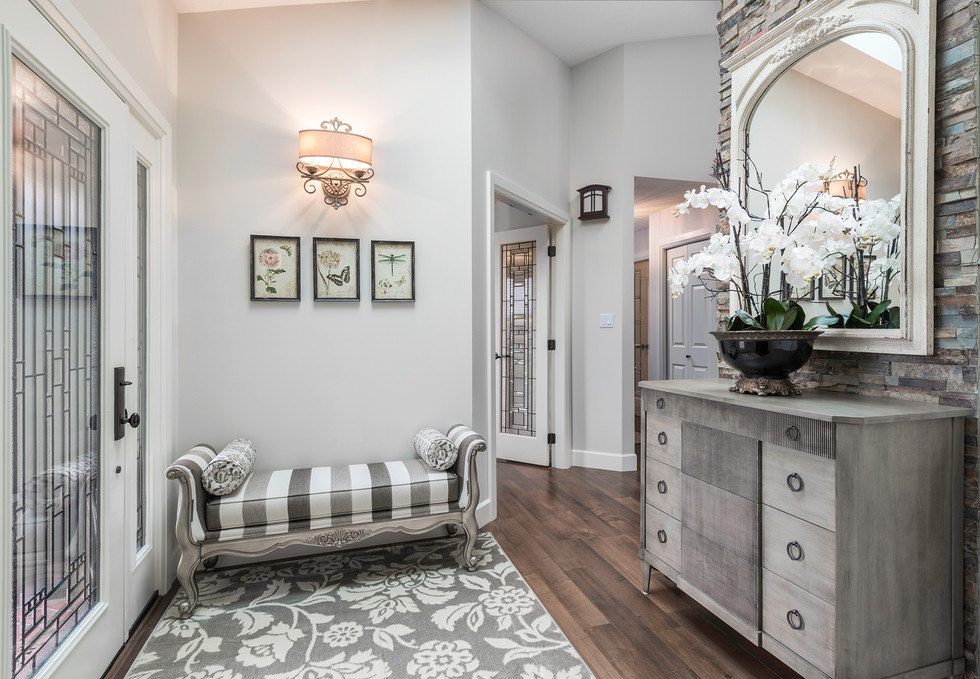Home Front Entrance - Interiors Photography