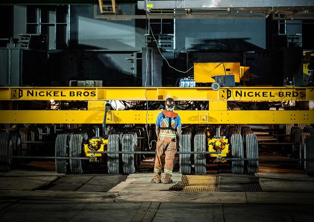 Heavy Lift Platform - Industrial Photography