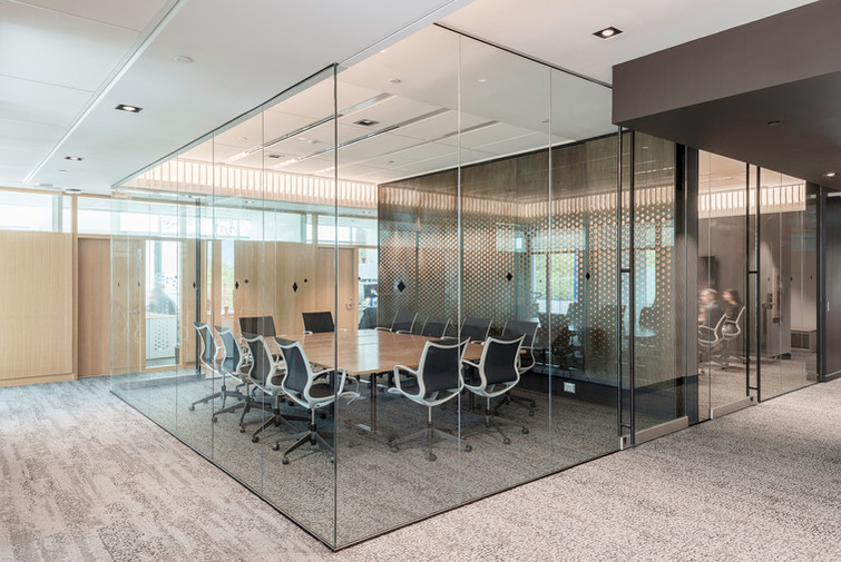 Glass Boardroom - Interiors Photography