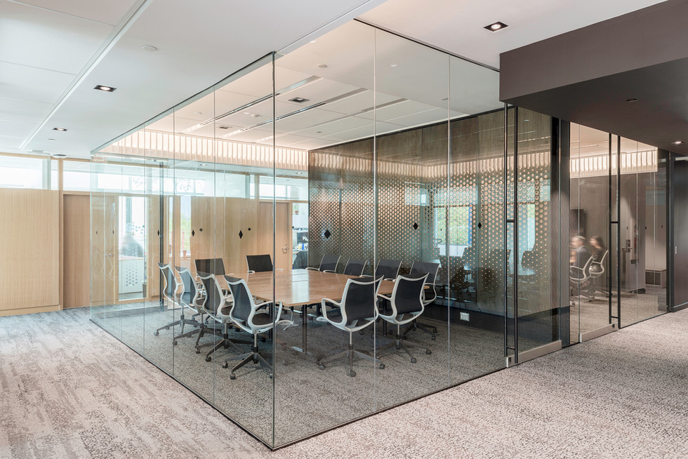 Glass Meeting Room - Interiors Photography
