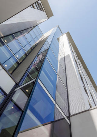 Office Tower Looking Up - Architectural Photography