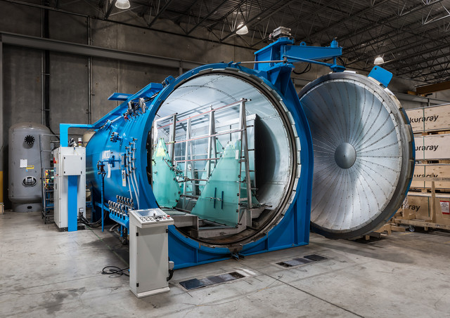 Autoclave - Industrial Photography