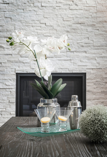 Flower Arrangement on Coffee Table
