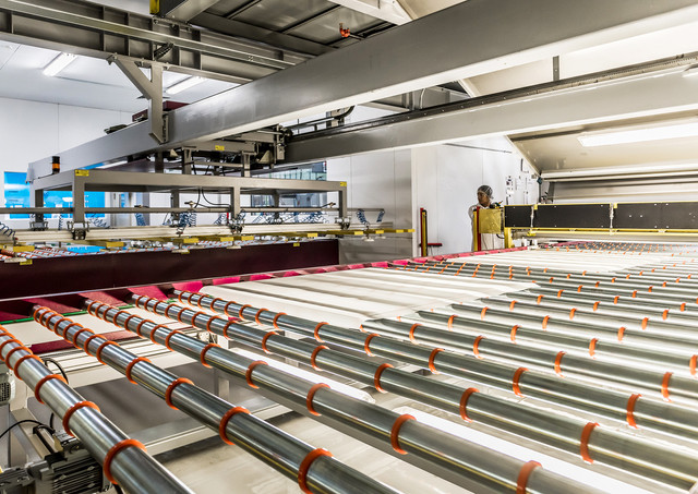 Glass Manufacturing - Industrial Photography