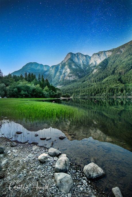 Silver Lake at Twilight, Hope, BC