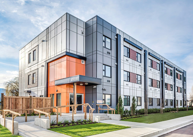 Nomodic Building Chilliwack - Architectural Photography