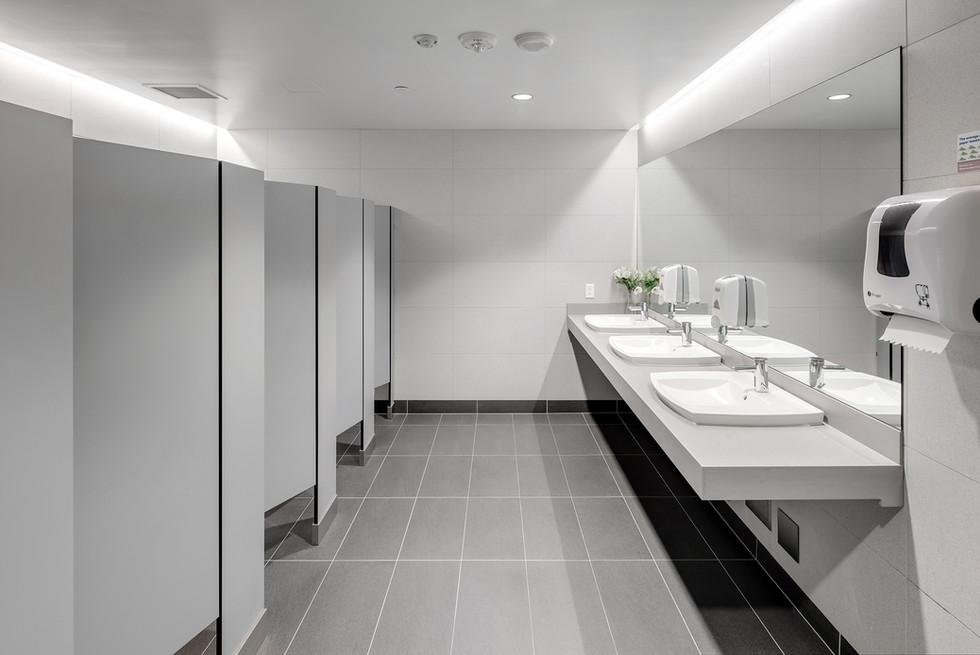 Office Washroom - Interiors Photography