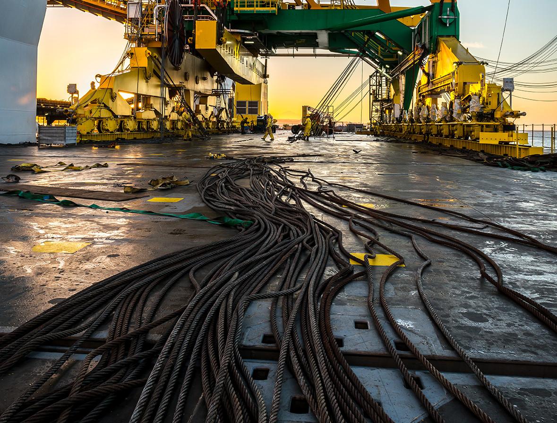 Heavy Lift Crane - Industrial Photography
