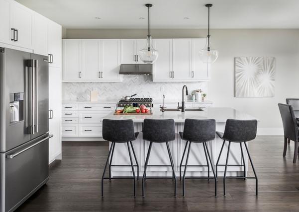 Modern White Kitchen - Interiors Photography