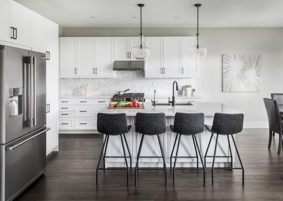 White Kitchen - Interiors Photography