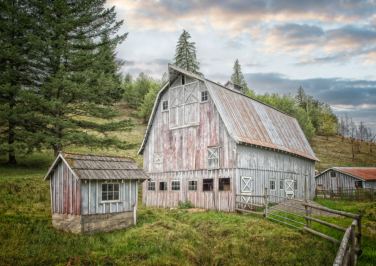 Barber Family Barn, Ryder Lake, Chilliwack - Architectural Photography