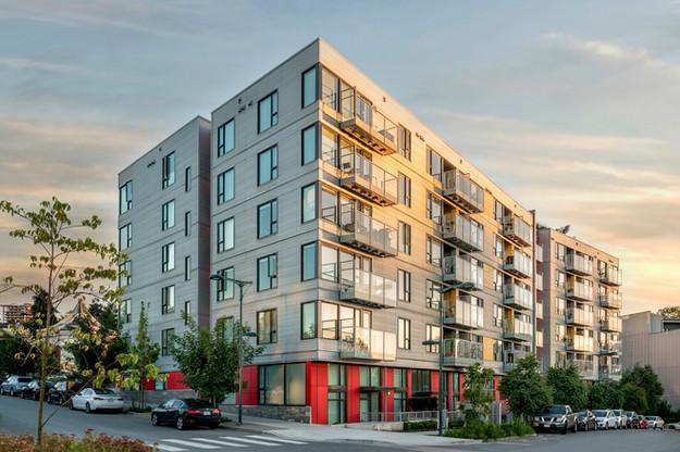 Condo Building Vancouver - Architectural Photography