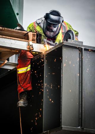 Welder - Industrial Photography