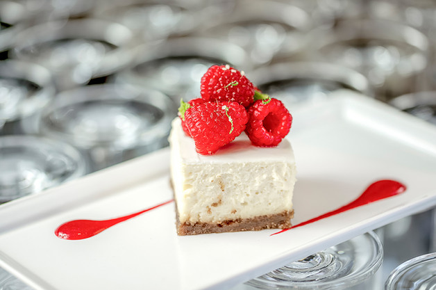 Raspberry Cheesecake - Products Photography