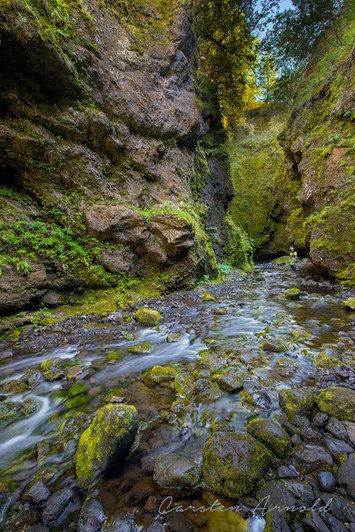 Secret Waterfall Iceland