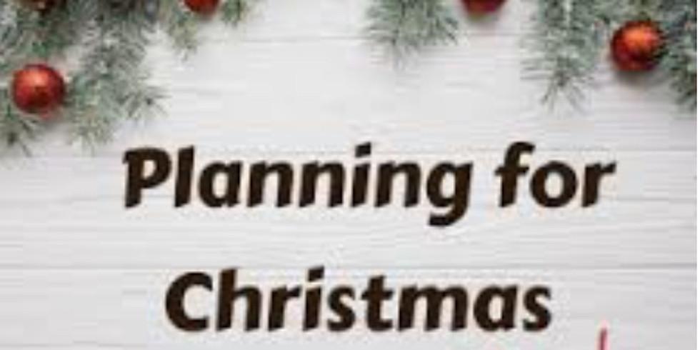 Christmas Parade planning meeting