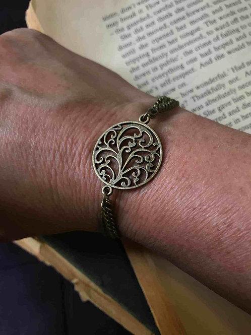 Swirl Bracelet Bronze Bohemian