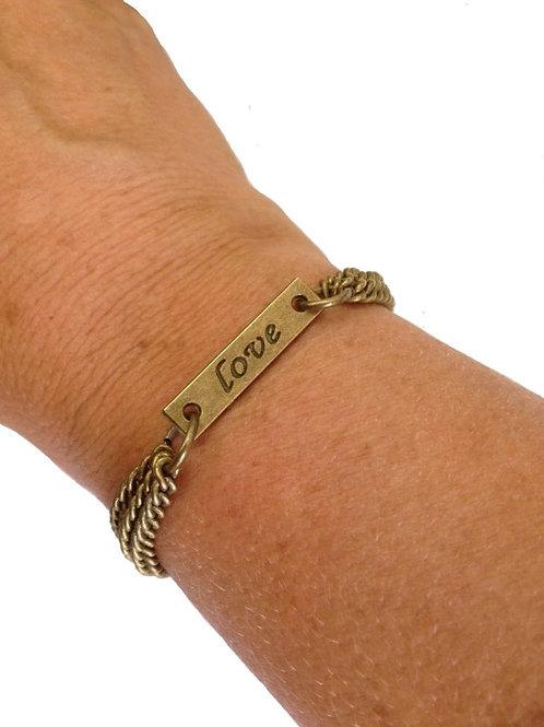 Love Bracelet Bronze