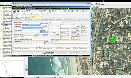 Geospatial EDMS on Mobile Device to collect field data, view gis data, search address, assign assets and more.