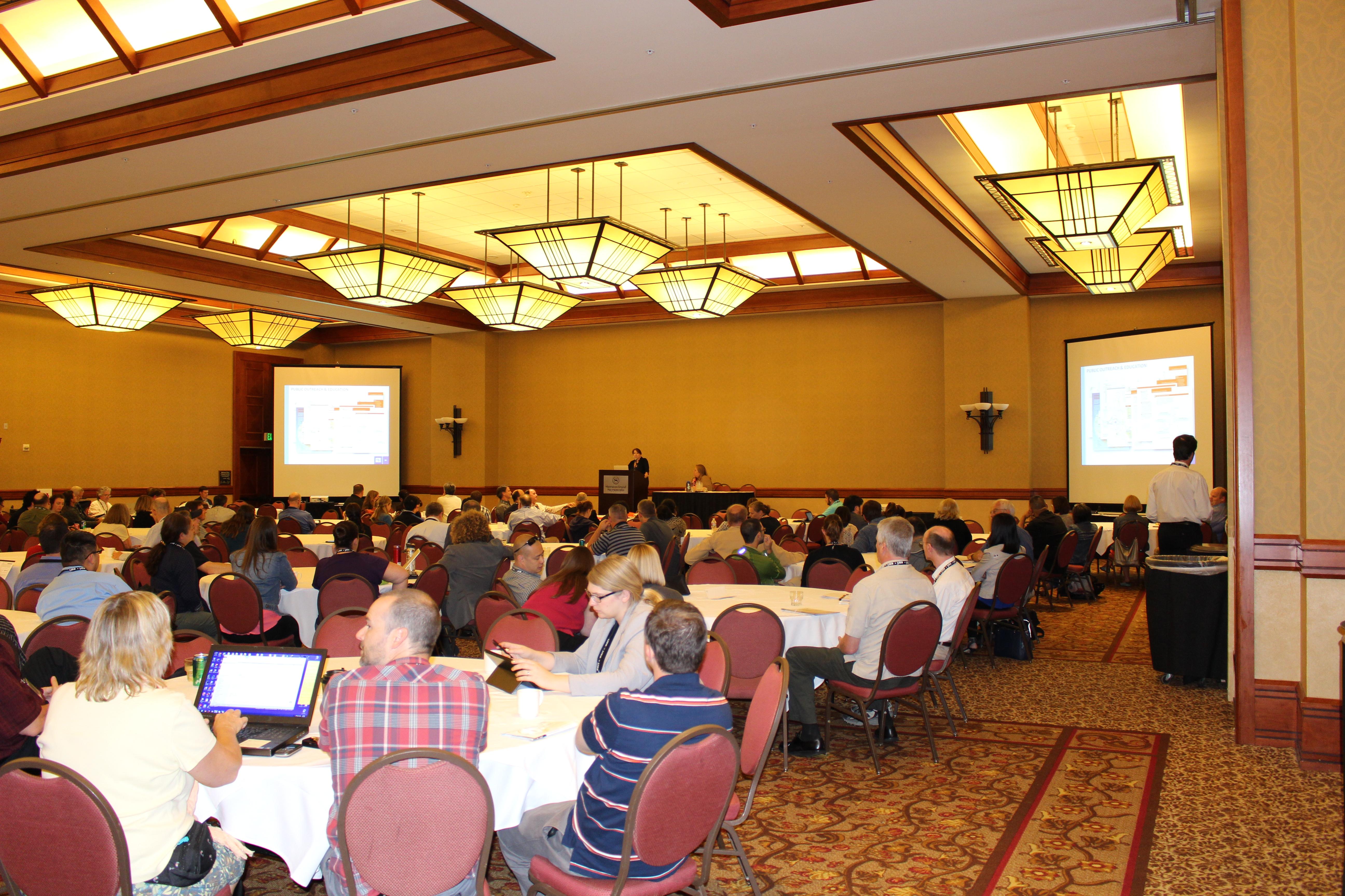 Conference presentation CalGIS 2015