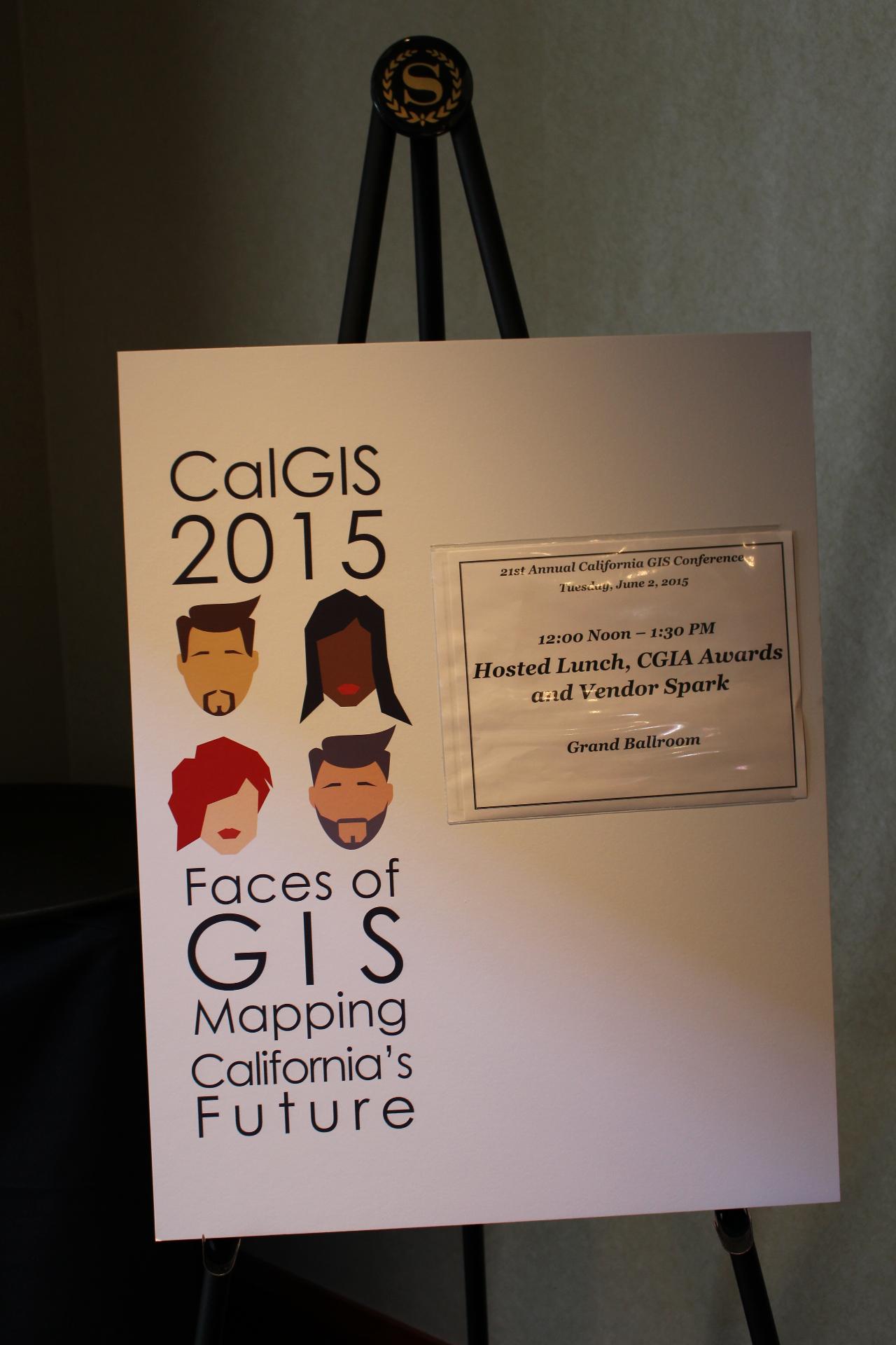 CalGIS 2015 Sacramento Ca.