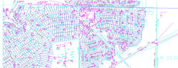 GIS_Parcel map and Fire Hydrants