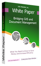 Bridging SanGIS Land Base layers and Document Management Software Solution