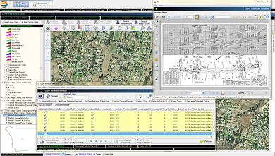 Geospatial EDMS MOBILE allows you to collect data in the field and sync with office.