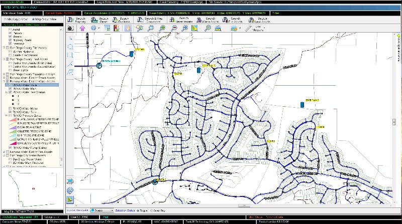 Geospatial EDMS, Southern Californai Water District
