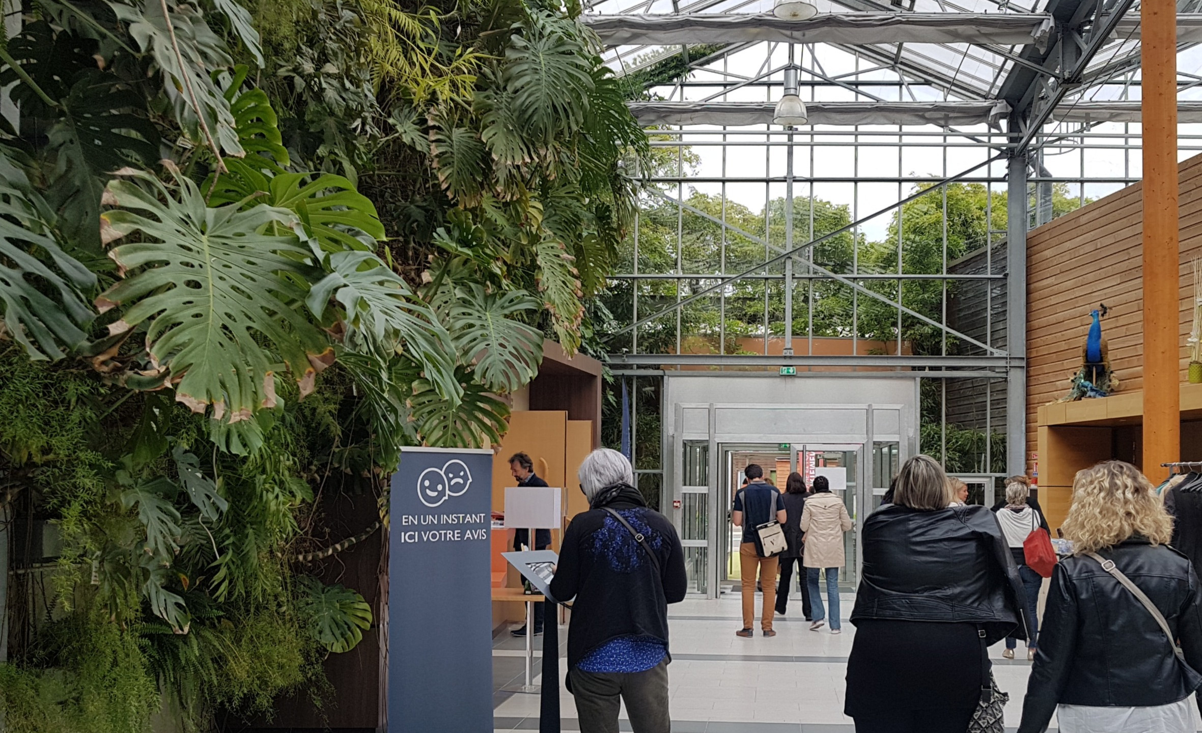 Borne Civiliz exposée lors des 7èmes rencontres nationales - Terra Botanica, Angers