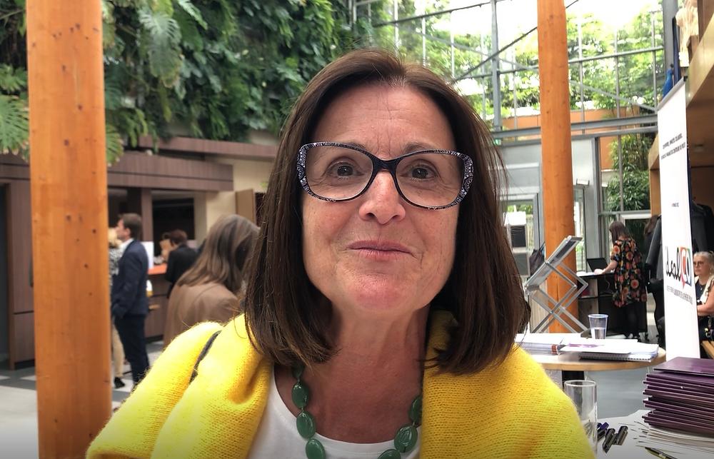 Sylvie Richard, responsable qualité de la mairie de Saint Nazaire