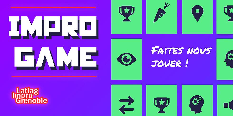 """""""Impro Game"""" au Festival Impro sur Cour"""