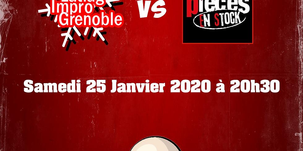 Match d'Impro : Latiag vs Pièces en Stock (Francheville)