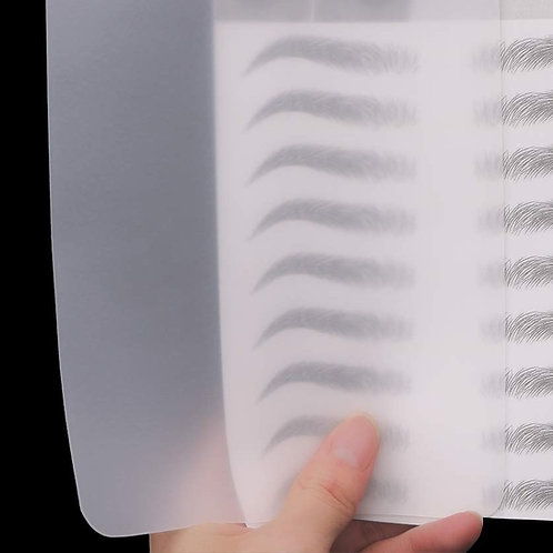 Transparent Silicone Tattoo Practice Skin