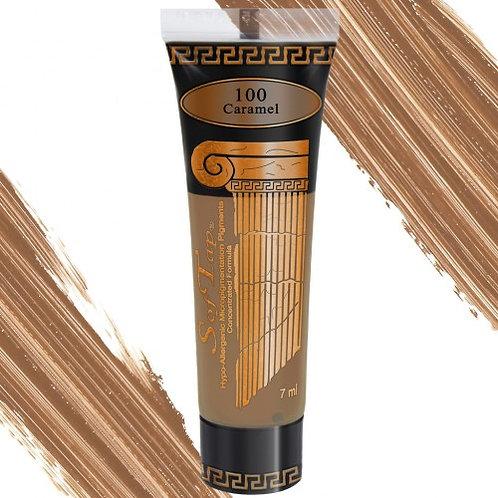 100 Warm - Light - Caramel