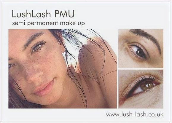 LushLash PMU Salon Cards (Pack of 100)