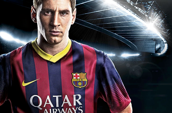 Tim Mantoani Leo Messi