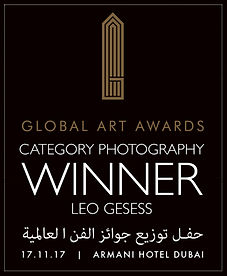 Leo Gesess nominated for Global Art Award 2017 in Dubai
