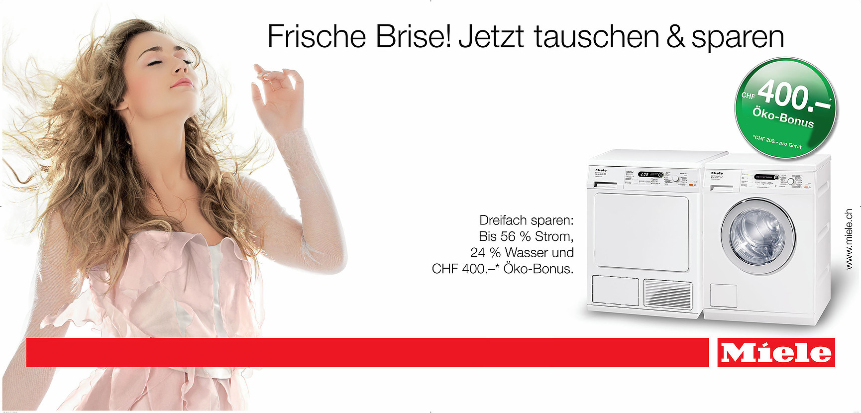 Miele ECO - nationale Kampagne