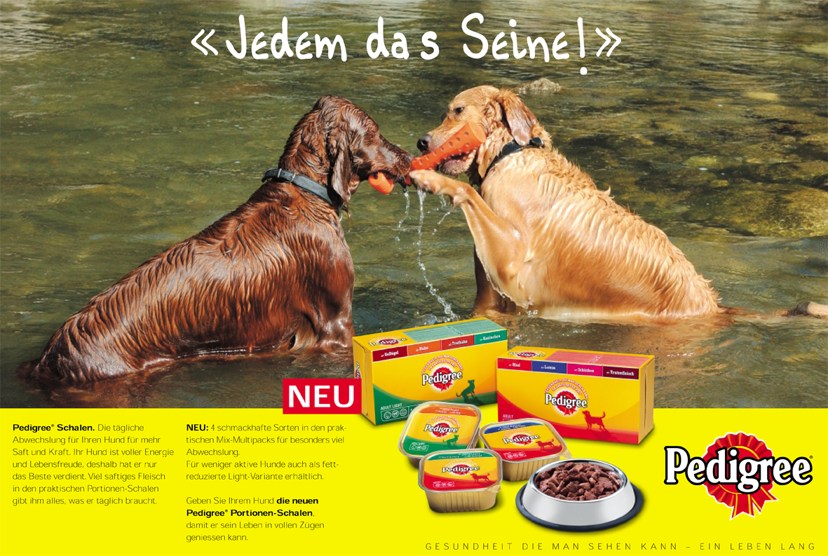 Pedigree - nationale Kampagne