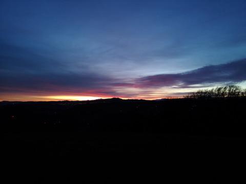 sunset by Leo Gesess Photographer Switzerland www.comcom.ooo