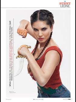Sunny Leone for FHM India