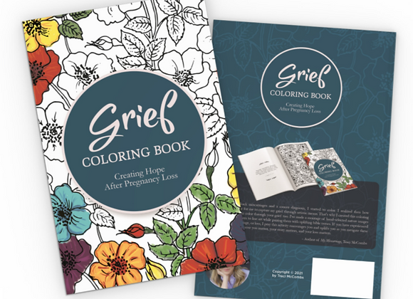 Grief Coloring Book for Women: Creating Hope After Pregnancy Loss