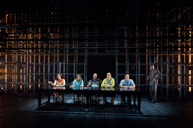 stage photographer, sydney based and internationally building Gez Xavier Mansfield was available to photograph the 1st season of Atomic at the NIDA Playhouse, set built by MNR constructions in Tempe