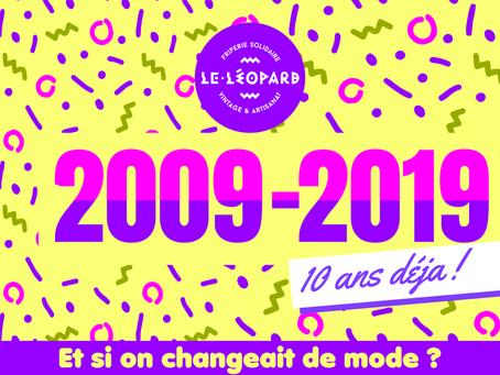 Le Léopard fête ses 10 ans !