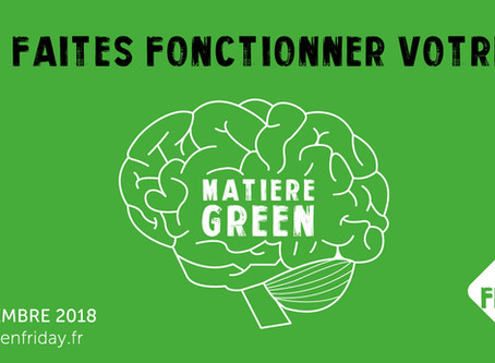 Le Green Friday, l'alternative éco-responsable au Black Friday !