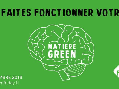 Le Green Friday, l'alternative éco-responsable au Black Friday !